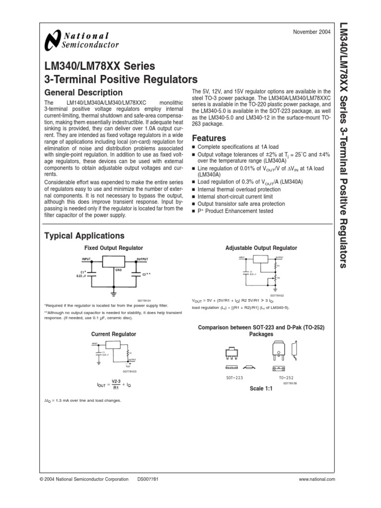 Datasheet lm2904n national semiconductor op amp dual ind spec.