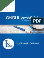 Ghidul Specializarilor ETTI