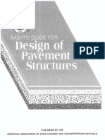 AASHTO Guide for Design of Pavement Structures (1993)