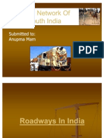 Road Network of South India