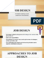 Job Design Ppt