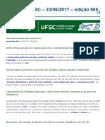 Notícias Da UFSC - 23-06