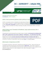 Notícias Da UFSC - 22-06