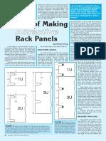 December 1998 Thomas Henry - Secrets of Making Attractive Rack Panels