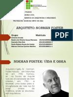 Trabalho Arquitetos Norman Foster
