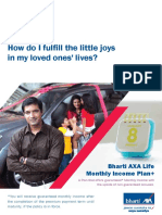 Monthly Income Plan Plus Brochure