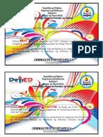 Filipino Certificates