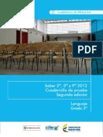 Ejemplos de Preguntas Saber 3 Lenguaje 2012 v3