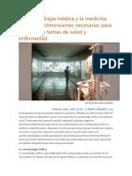 La Antropología Médica y La Medicina Social