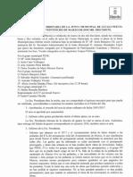 Acta de Pleno Ordinario de 28 de Marzo de 2017