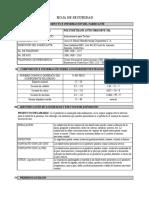 MSDS Anticorrosivo Poliuretano Para Techos