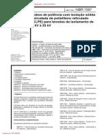 NBR-7287 - 1992 - Cabos de ptencia com isolacao solida extrudada de ....pdf