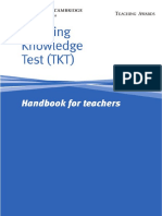 TKTest HandbookforTeachers