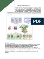 Bibliografia Celulas para estudiantes