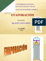 CLASE DE EVAPORACIÓN (UNICA - 2011) (1).pptx