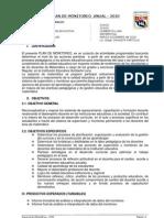 Plan de Monitoreo 2010 Edken