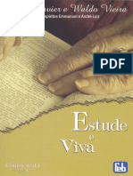 084 Estude e Viva - Emmanuel e Andre Luiz - Chico Xavier - Waldo Vieira - Ano 1965.pdf