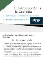 CLASE DE GEOLOGÍA