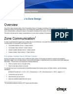 Zone Communication