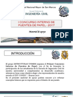 Material de Apoyo Concurso de Puentes