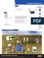 Wireless Transmitter, OleumTech