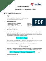 4 Ley de Enfriamento (Física II)