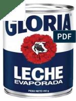 Metodo Simplex Grupo Gloria s.A