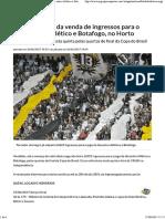 Duelo Entre Atlético e Botafogo
