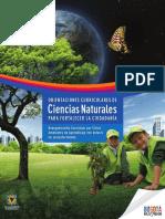 Orientaciones Curriculares de Ciencias Naturales Para Fortalecer La Ciudadanìa