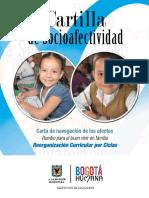 Cartilla de Sociafectividad. Carta de Navegación de Los Afectos.