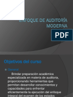 Enfoque de Auditoria Moderna