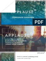 Applause Overview