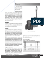Oil Lever Gate Valve - Model 110 Cutsheet