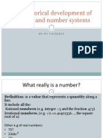 Lesson 1- The Historical Development of Number and Number Systems1