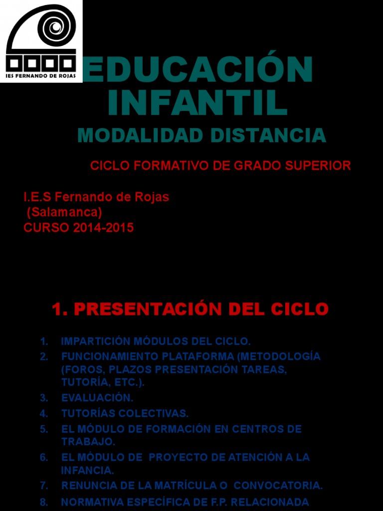 Presentacion Curso Ei Distancia 14 15 1