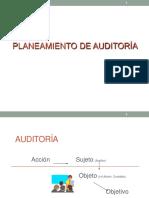 Planeamiento de Auditoría y Normas