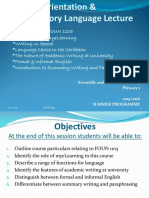 New FOUN 1105 Plenary 1 Summer Programme 2016 2017.ppt