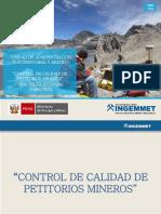 6.-Control de Calidad de Petitorios Mineros_nilda Guevara