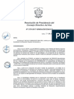 Resolución N°279-2017-SINEACE-CDAH-P