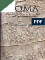 Altieri Megale Angelo - Roma - Introduccion Al Estudio Del Pensamiento Romano