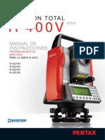 Manual Estacion Total Pentax R 425VN