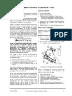 Procedimientos de Carga y Llenado de Aceite