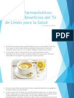 Productos Farmacéuticos Beneficios Del Te de Limon