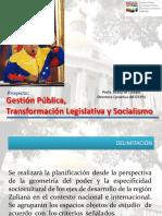 Gestion Publica Tranformacion Legislativa y Socialismo Web