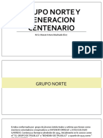 Grupo Norte y Generacion Centenario