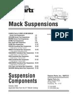 Mack Suspension Summary