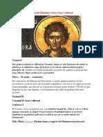 Acatistul Sfântului Cuvios Ioan Colibaşul