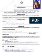 Professional Resume Format (9)