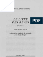 Em-Swedenborg-Le-Livre-Des-Reves-DROMBOKEN-Journal-des-Annees-1743-1744-G-E-Klemming-1859-C-Th-Odhner-1918-Regis-Boyer-1993