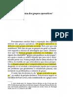 PICHON-RIVIÈRE, E. História Da Técnica Dos Grupos Operativos (Capítulo)